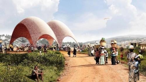 Progetto per stazione per droni in Ruanda