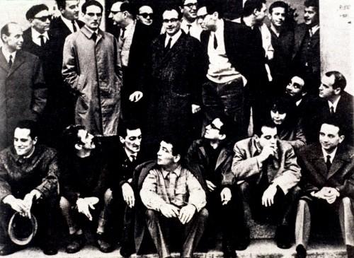 gruppo 63 - Gruppo 63 archivio Giovannetti/effigie - Fotografo: nn