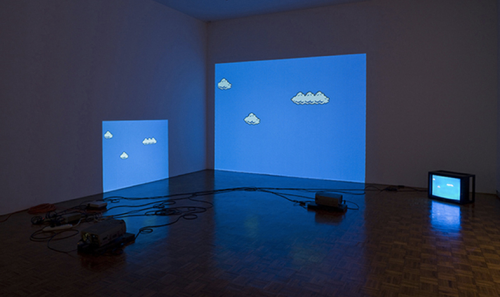 Cory Arcangel, Super Mario Clouds