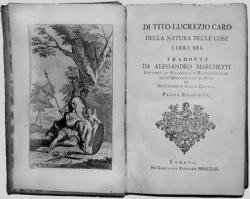 Stampa del De rerum natura