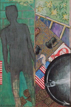 Jasper Johns, Summer, 1985. Encaustic  Museum of Modern Art, New York