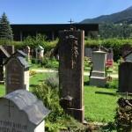 La tomba di Toni Kurz nel Cimitero vecchio di Berchtesgaden