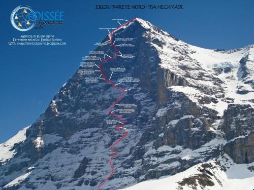 Parete Nord dell'Eiger