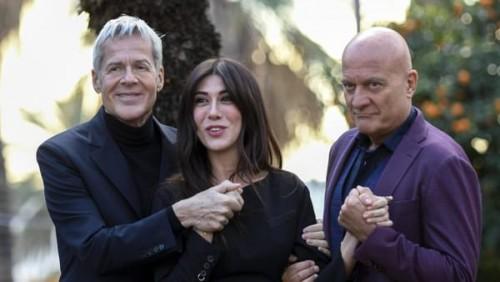 I conduttori di quest'anno: Baglioni Bisio Raffaele