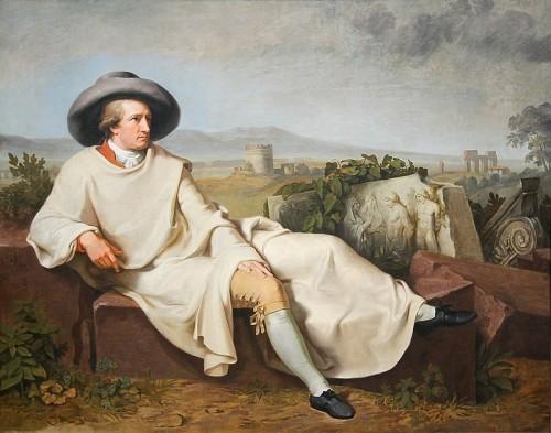 Johann Heinrich Wilhelm Tischbein, Goethe