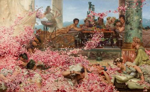 lerosedieliogabalo_di Lawren Alma Tadema