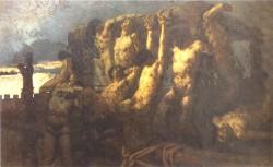 Il dipinto di Gaetano Previati sul sacrificio dei prigionieri cremaschi