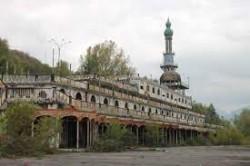 Un particolare della città fantasma di Consono