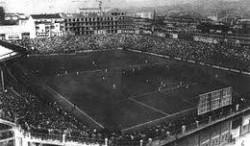 Il vecchio stadio Filadelfia di Torino