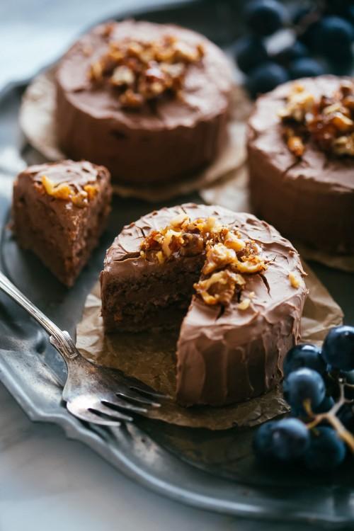 tortine-cioccolato-noci