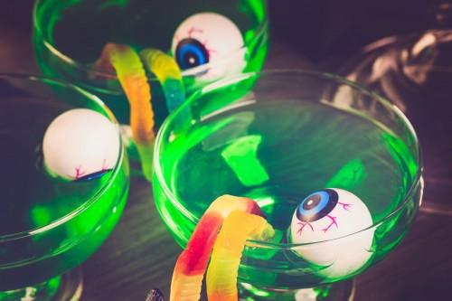 Halloween-party-verde