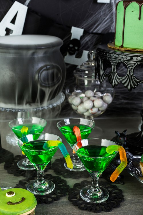 party-halloween-green