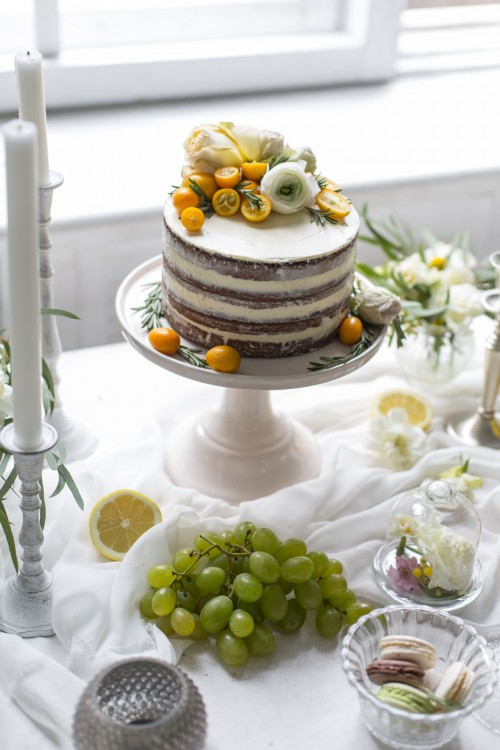 Cream-and-kumquat-naked-cake