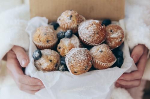 Blueberries-muffins