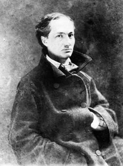 """Charles Baudelaire di cui verranno """"rappresentati"""" Les fleures du mal"""