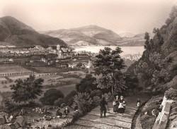 La mulattiera nel 1860