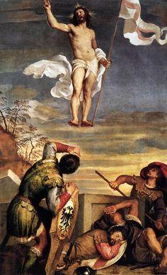 La Resurrezione di Tiziano, nel palazzo Ducale di Urbino