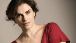 L'attrice Laura Marinoni