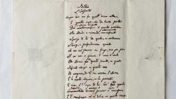 """""""L'Infinito"""" di LeopardI nel manoscritto autografo del Comune di Visso"""