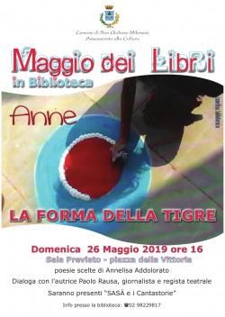 LOCANDINA EVENTO ANNE 26 MAGGIO 2019 - SAN GIULIANO