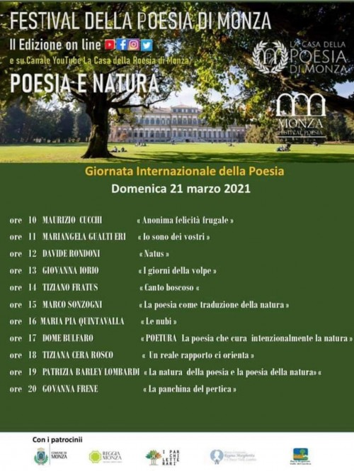 21 marzo Poesia e natura Monza