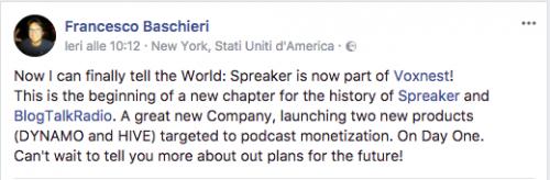 Baschieri facebook